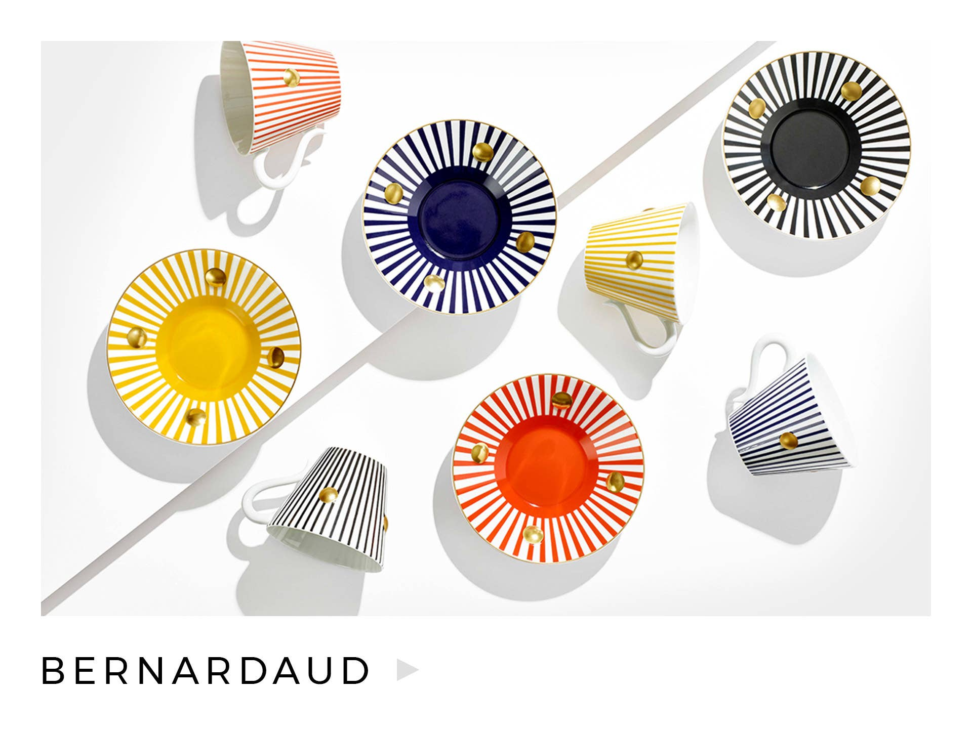 Learn more about our beautiful Bernardaud collection, including our new Delphos cups & saucers.