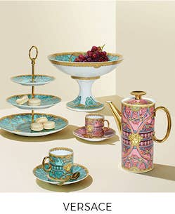 Shop our collection of Versace dinnerware