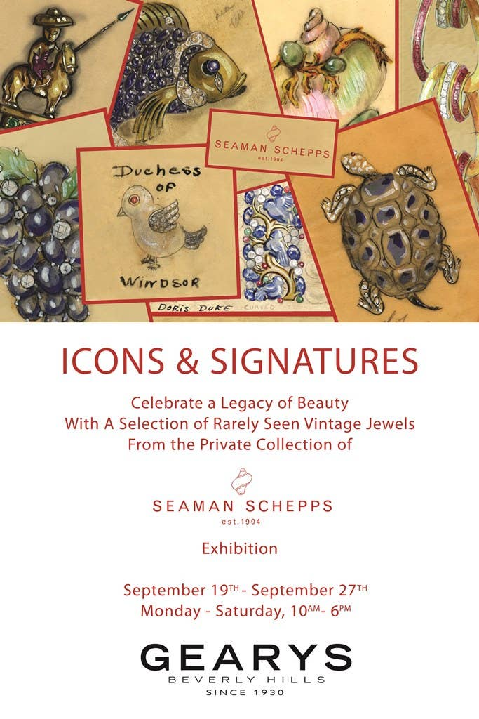 Seaman Schepps Images & Icons Exhibition