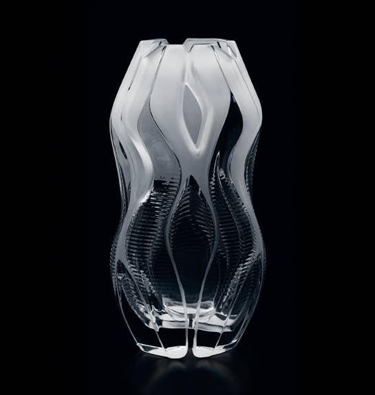 Clear Manifesto Vase