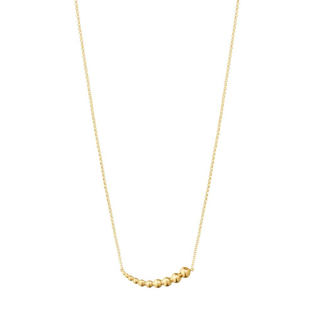 Georg Jensen Moonlight Grapes Necklace with Pendant, 18K Yellow Gold