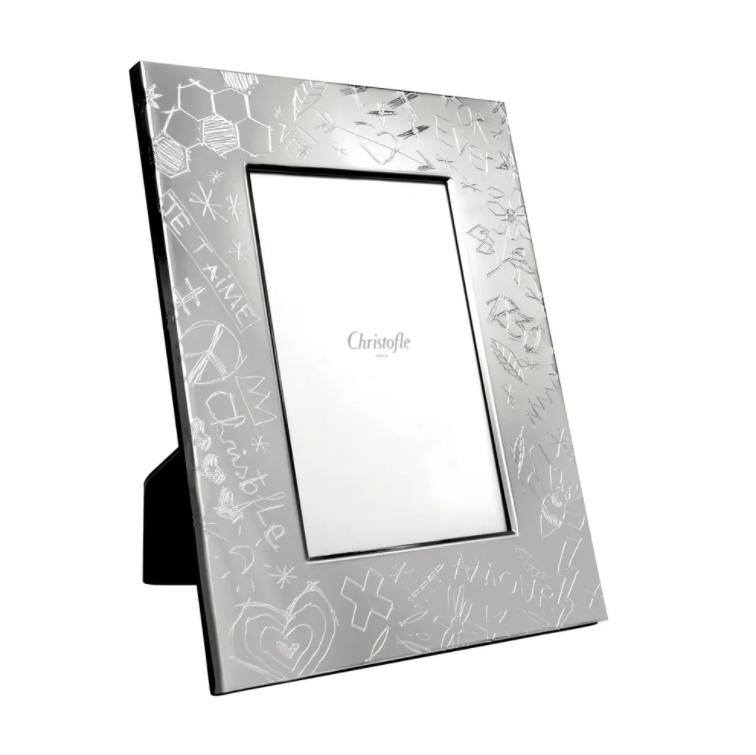 Christofle Graffiti Silverplate Frame