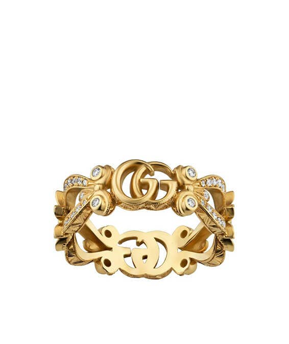 Gucci Anello Flora Ring