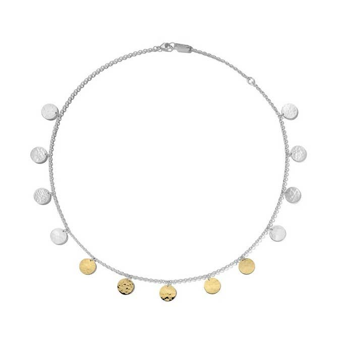 Ippolita 925 Chimera Classico Hammered Paillette Disc Necklace