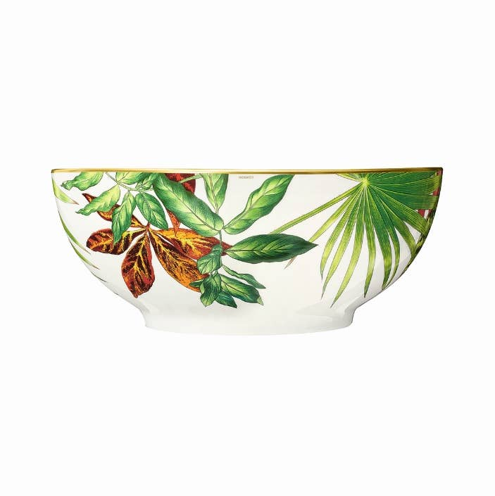 Floral themed bowl from Hermès Passifolia collection