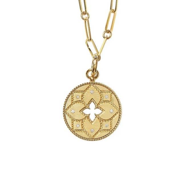 Roberto Coin Venetian Princess Medallion