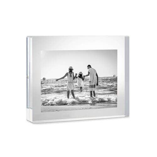 Tizo lucite freestanding picture frame